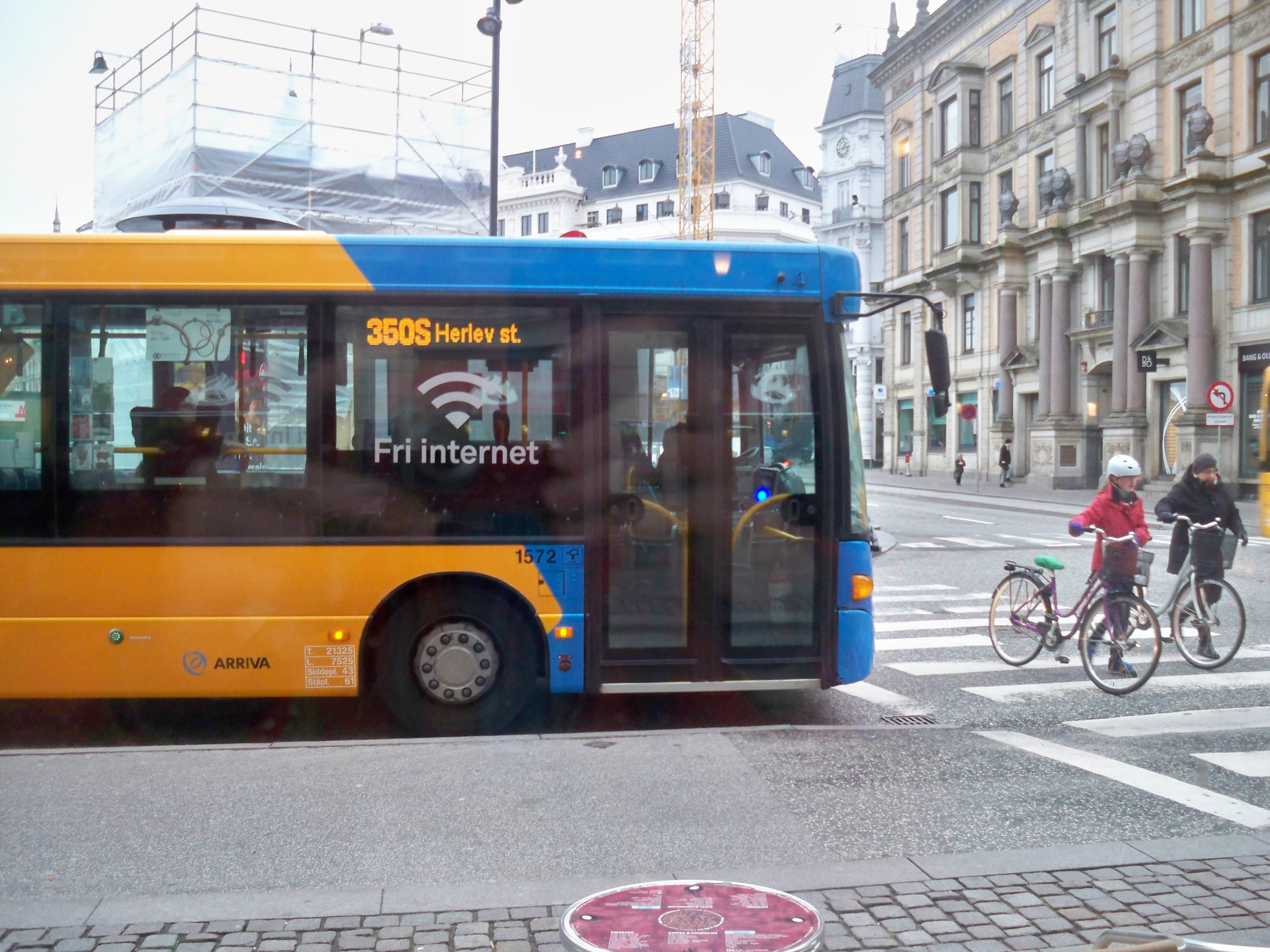 Copenhagen bus