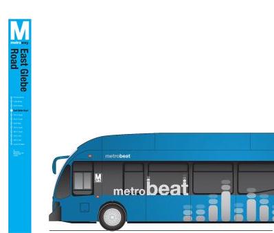 Metrobus, Metro graphic