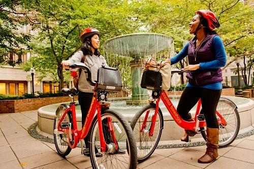 Capital Bikeshare riders