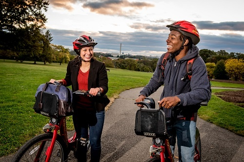 Capital Bikeshare Riders in Arlington County