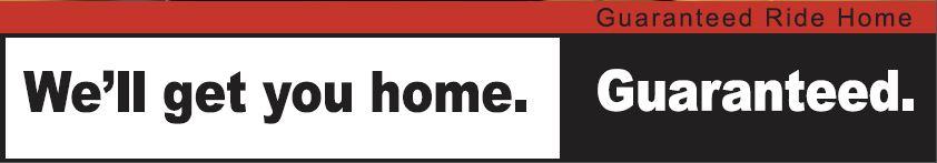 Guaranteed Ride Home (GRH) banner