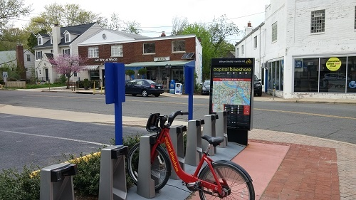 Commonwealth Joe/Java Shack and Capital Bikeshare Station, Arlington, VA