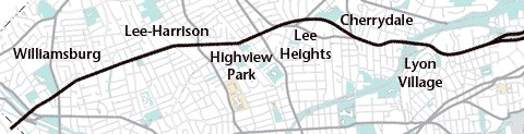 Lee Highway Urban Village Layout