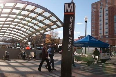 Walking near Metro