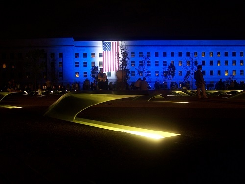 Pentagon Memorial - 2008 dedication
