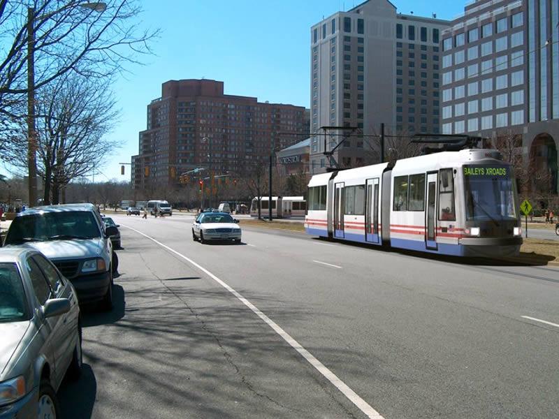 Streetcar rendering