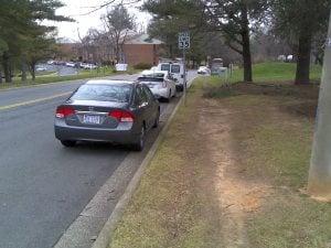 Residential Street in Reston, VA