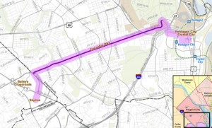 Columbia Pike Streetcar Map