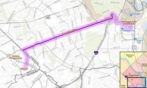 Columbia Pike Streetcar Map