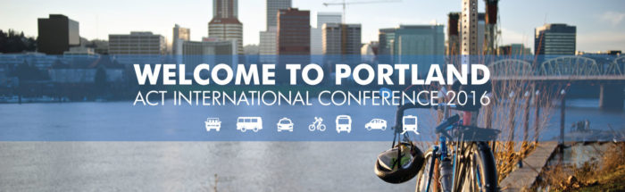 ACT International Conference 2016 in Portland Logo