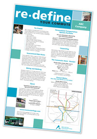 poster with commute options