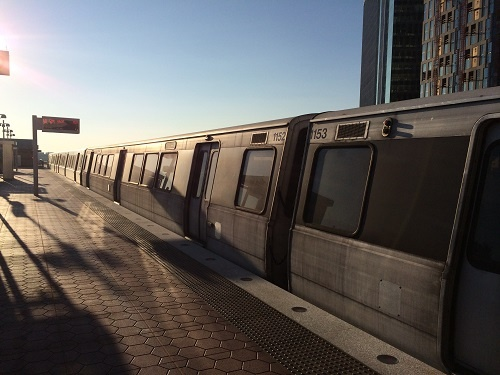 Silver Line Metro Station