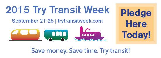 Try Transit Week Banner