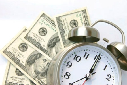 Graphic: Time and Money