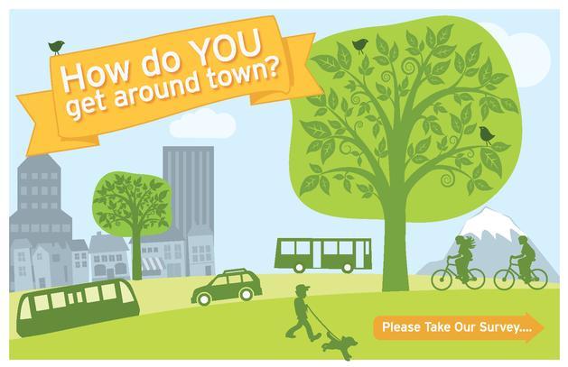 Transportation Survey graphic