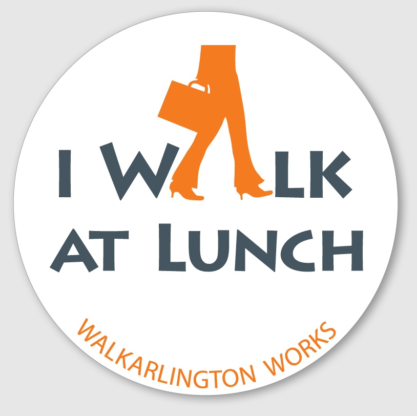 Walk at lunch logo