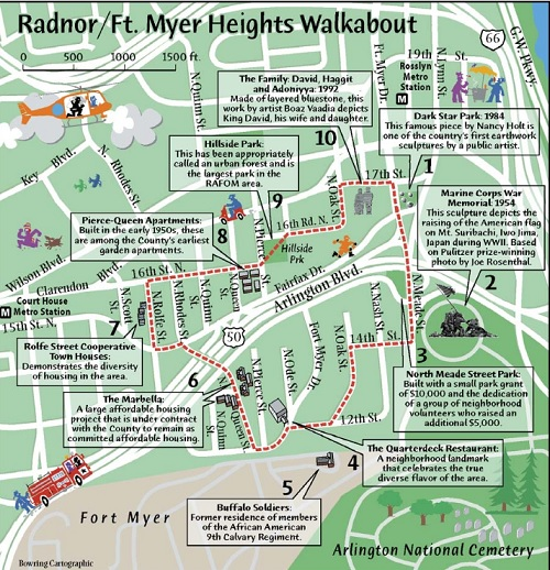 Walkabout: Radnor & Fort Myer Heights, WalkArlington