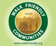 Walk Friendly Community Designation Logo