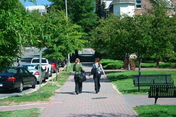 Walking in Clarendon