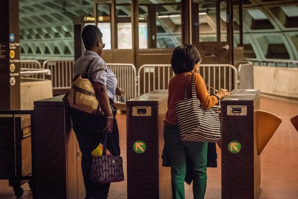 metro-riders-entering-station