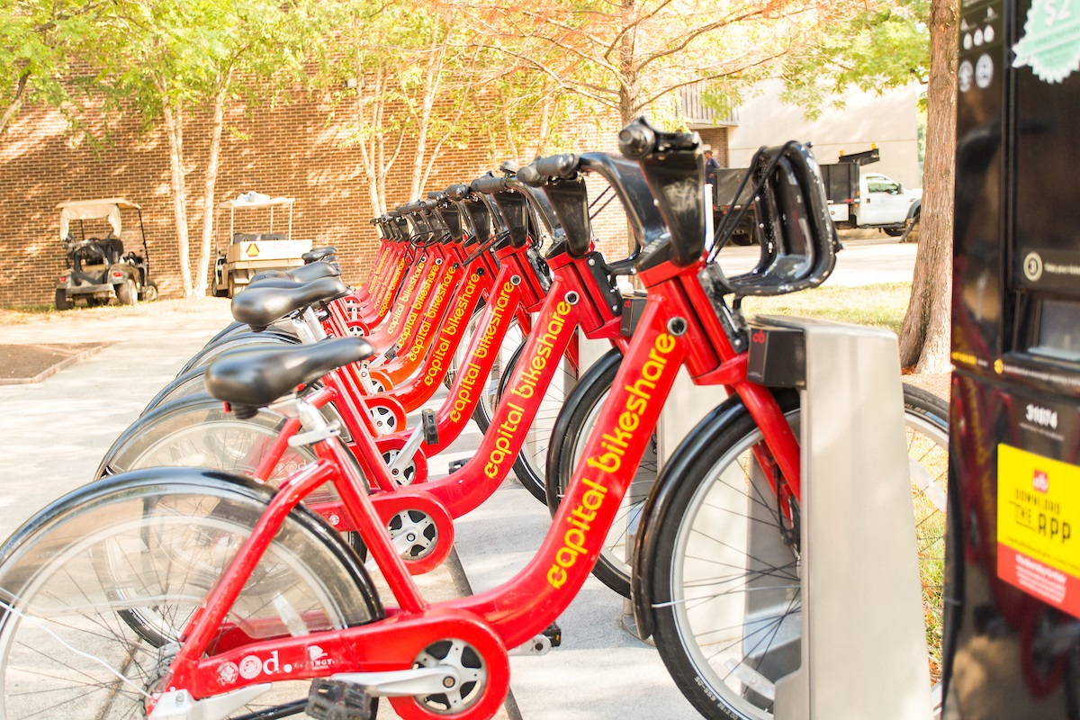 row-of-capital-bikeshare-at-station