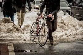 snowy-commute-bike