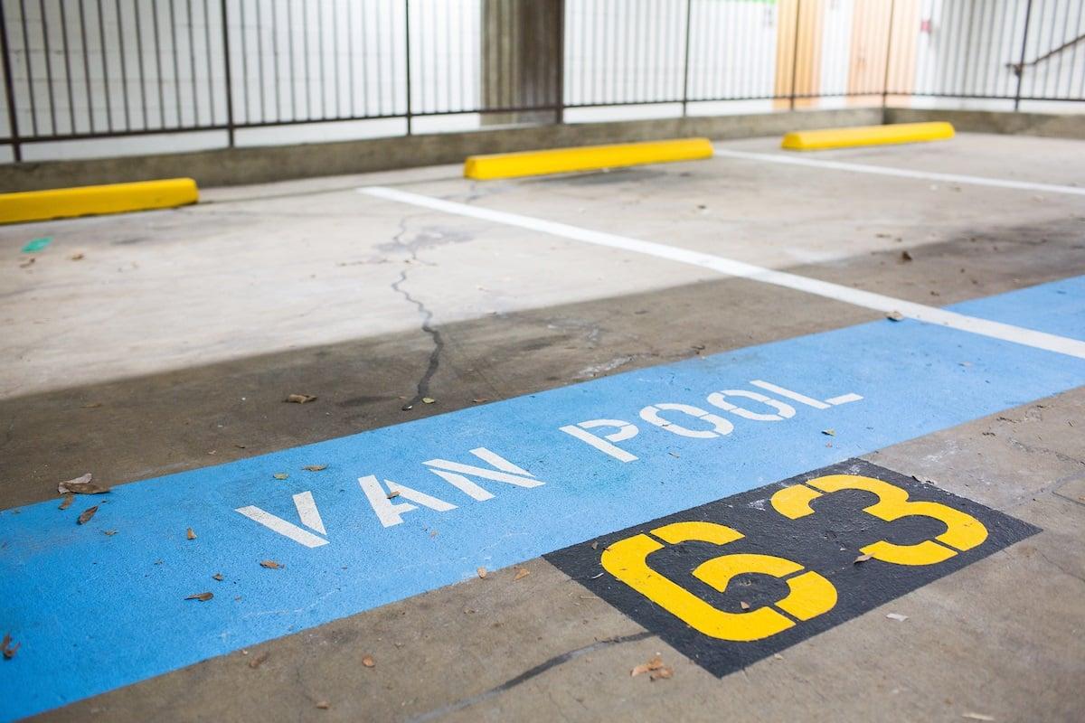 vanpool-parking-spot