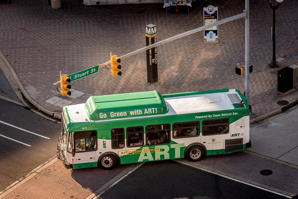 ART Bus Series: ART 53 (Ballston - Old Glebe - East Falls Church)