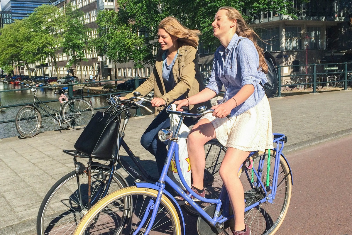 Biking in Amsterdam: Living and Loving the Ride