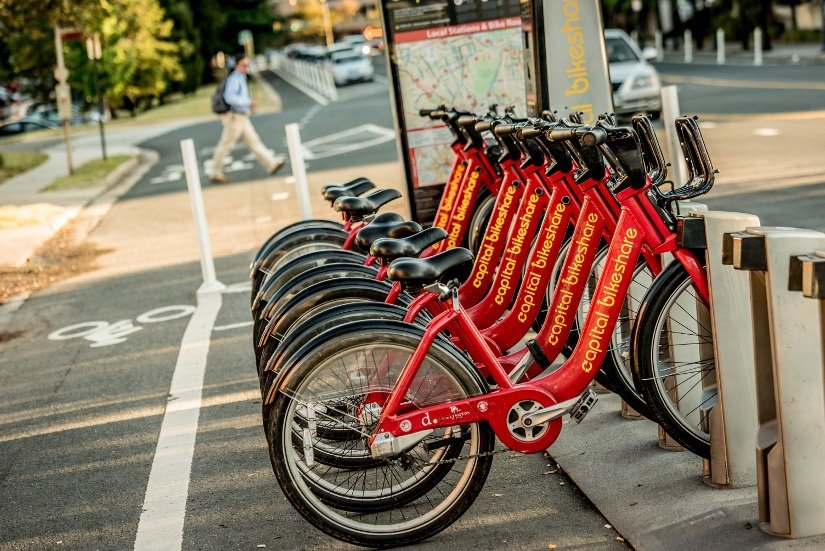 Learning to Ride a Bike with Capital Bikeshare