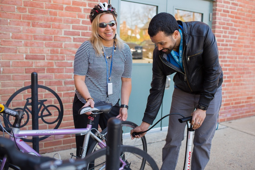 APS Staff Set Their Best Record for Walking and Biking