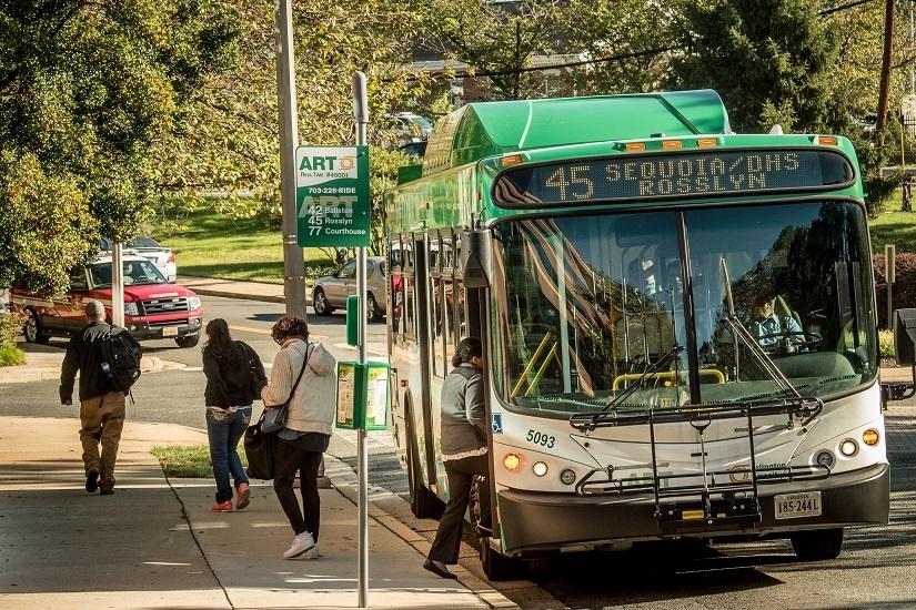 ART Bus Series: ART 45 (Columbia Pike-DHS/Sequoia-Rosslyn)