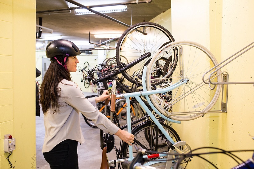bike-parking-room-helmet