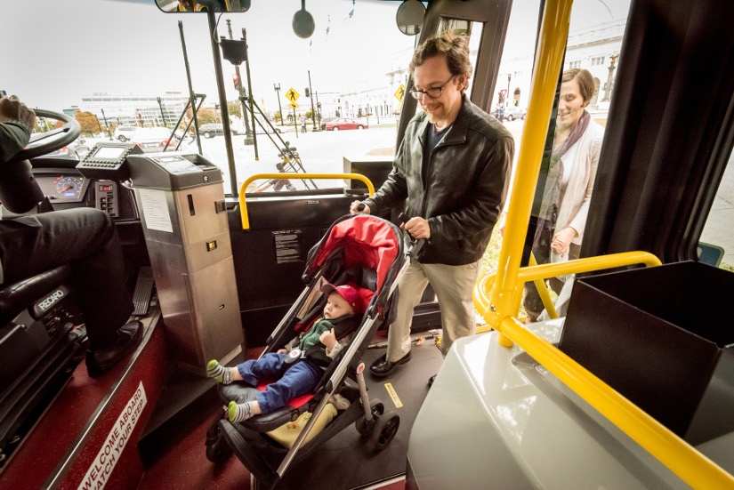 Take Your Toddler on Transit