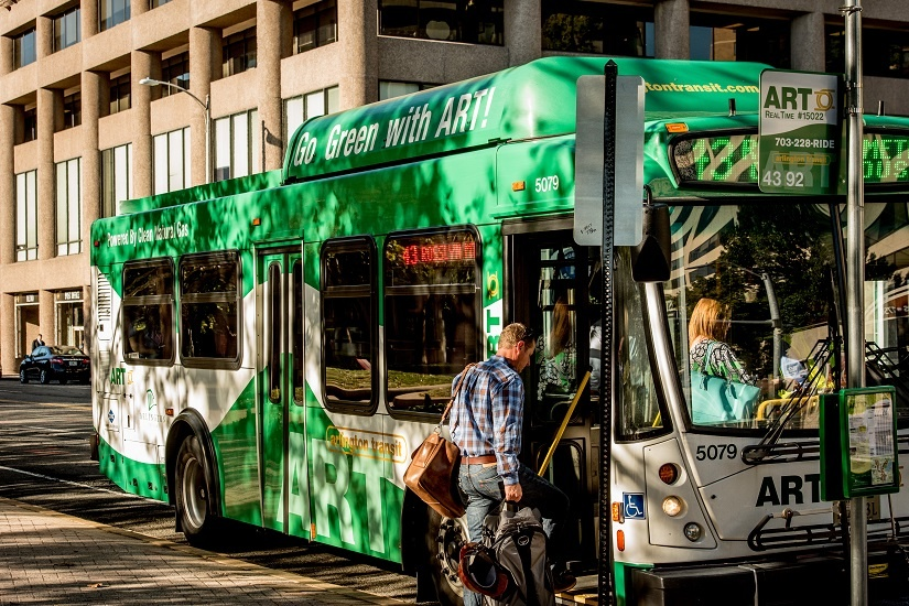 ART Bus Series: ART 43 (Crystal City - Rosslyn - Courthouse)
