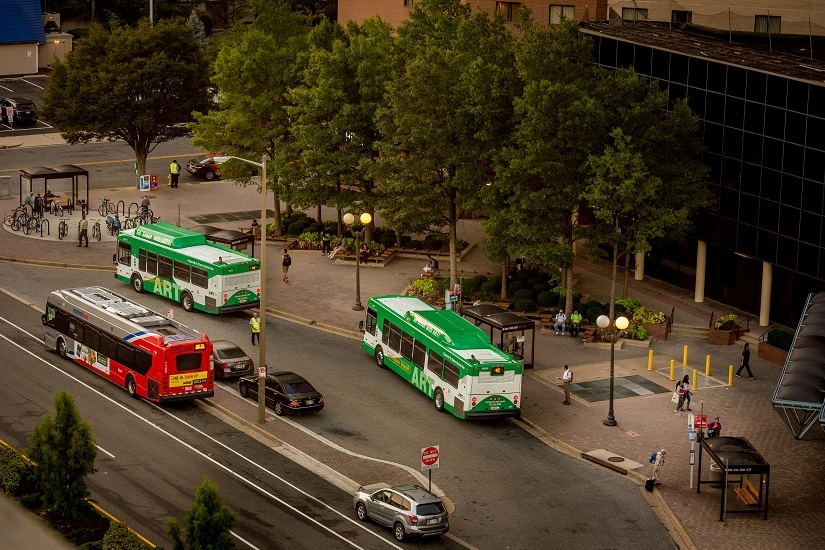 Top Five Bus Lines in Arlington County