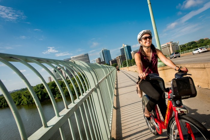 Capital Bikeshare Commute, Key Bridge