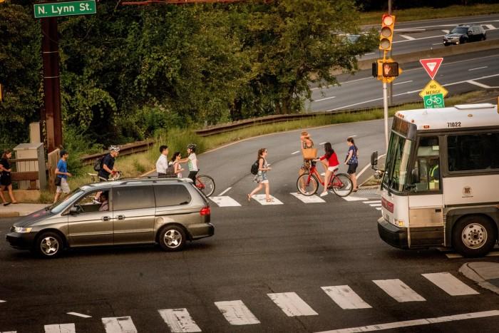 Walking, Biking or Bus