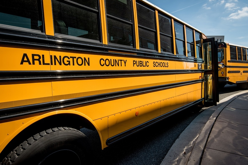APS and ATP Team Up For Bus to School Day