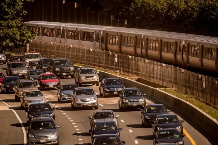 Traffic on 66, Arlington, Virginia