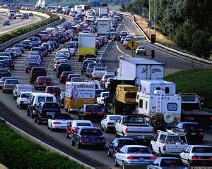 DC Congested Freeway Traffic