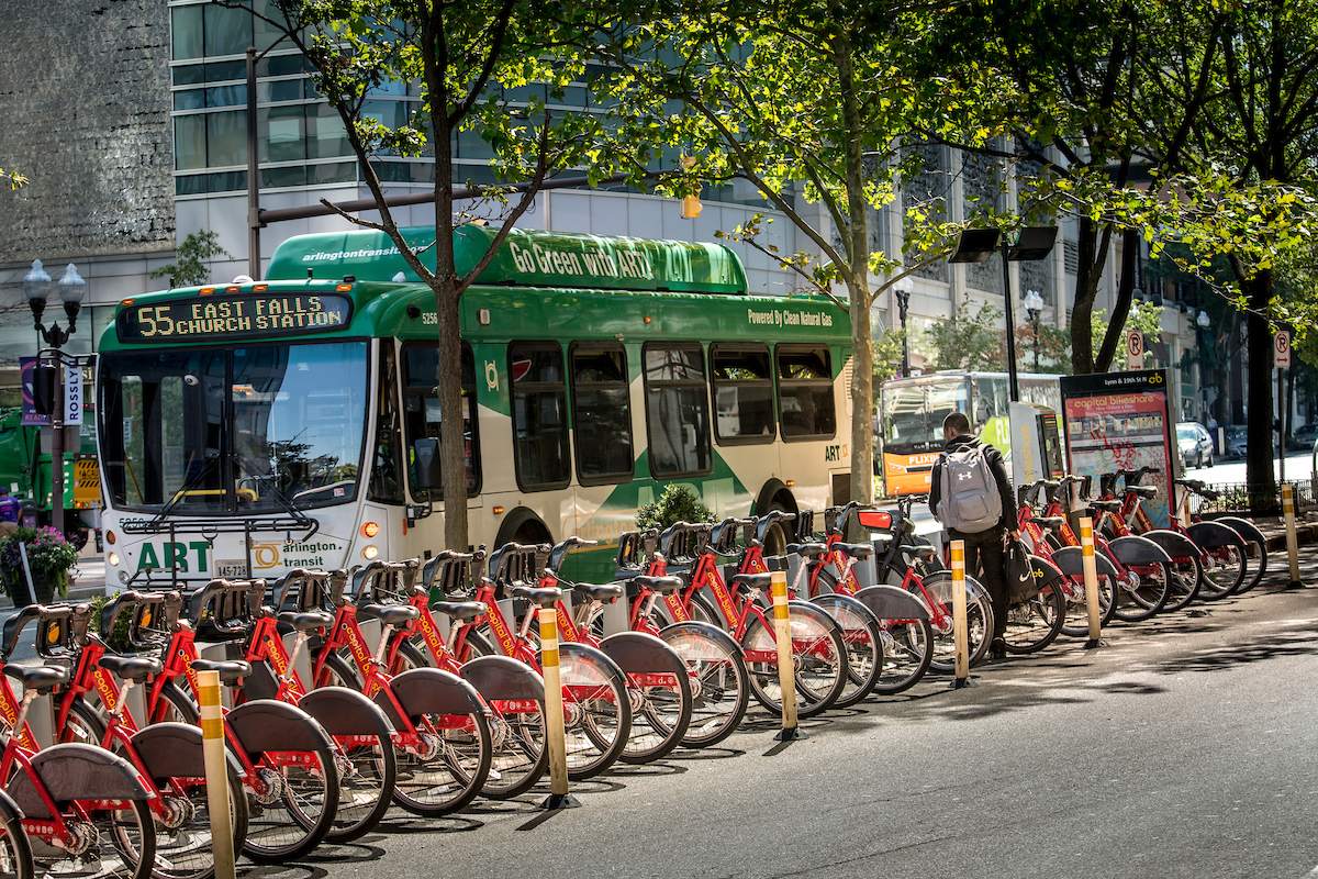 Celebrating 100 Capital Bikeshare Stations